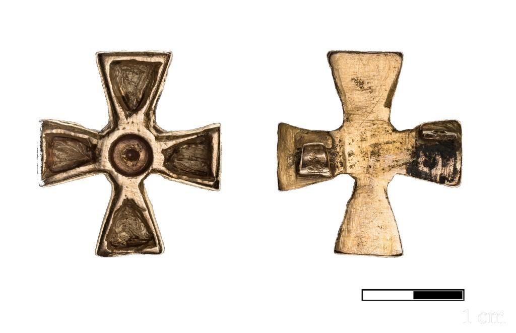 Gouden Kruisfibula